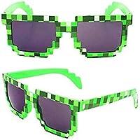 Green Creeper of mosaic sunglasses for boys outdoors sunglasses