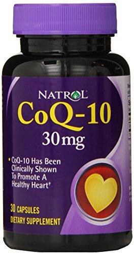 Natrol Coenzyme Q 10 Capsules 30 Count