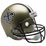 Riddell NFL New Orleans Saints Deluxe Replica Football Helmet