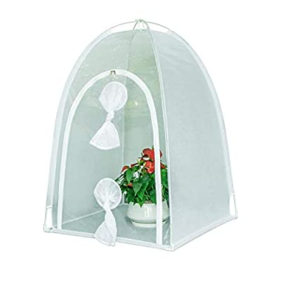 Mesh Design Portable Small Insect Breeding Cage Insect House Nest for Insect Feeding and Observation: Home Improvement