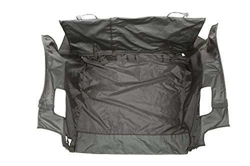 - Rugged Ridge 13260.02 C3 Cargo Cover with Subwoofer for Jeep Wrangler JKU (4 Door)