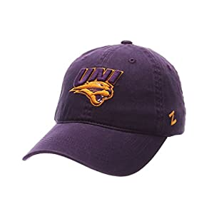 Zephyr MEN'S NORTHERN IOWA PANTHERS SCHOLARSHIP WASHED ADJUSTABLE HAT PURPLE by Zephyr 1048675