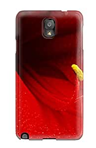 Fashion Tpu Case For Galaxy Note 3- Amaryllis Flower Defender Case Cover 2430390K78690170
