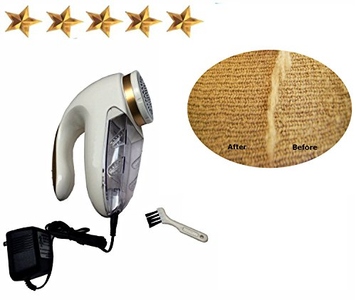 Electric Clothes Fuzz Remover Fabric Shaver Lint Pill Swe...