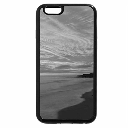 iPhone 6S Case, iPhone 6 Case (Black & White) - lost horizon