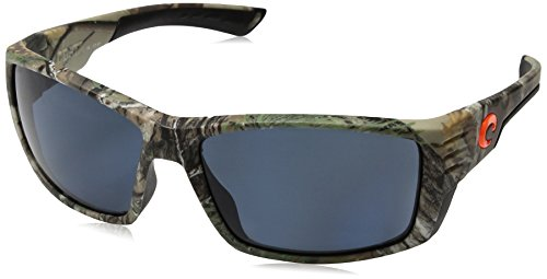 Costa Del Mar Cortez Sunglasses, Realtree Xtra Camo, Gray 580 Plastic - Glasses Mar Camo Costa Del