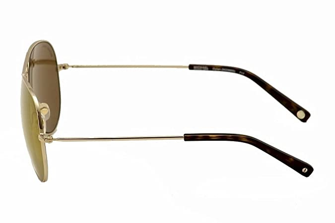 e3504987d5fd Amazon.com: Michael Kors MK Dylan Aviator Sunglasses M2066S 717 Gold 58 14  135: Shoes