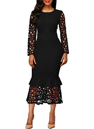 long black occasion dresses - 5