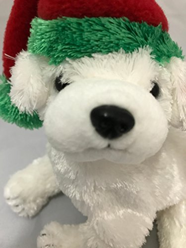 TY Beanie Baby - TINSEL the Dog (BBOM December 2003) Plush Of Month Club