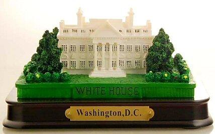 Washington DC Souvenir Paperweight - White House, Washington DC Souvenirs, Washington D.C. Gifts (Paperweight House)