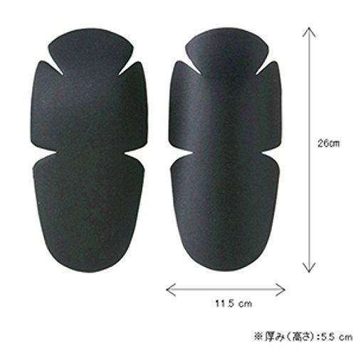Goldwin air through protector black GSM18407 (2 piece set for elbow-knee)
