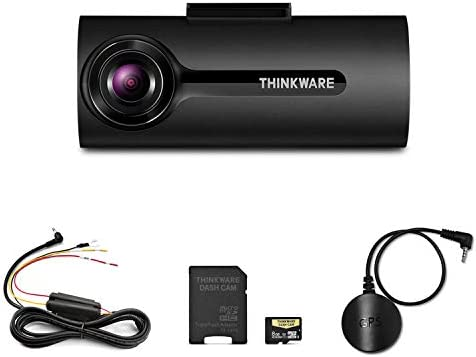 Thinkware F70 Dash Cam Bundle with Hardwiring Cable GPS No Cigarette Power Cable