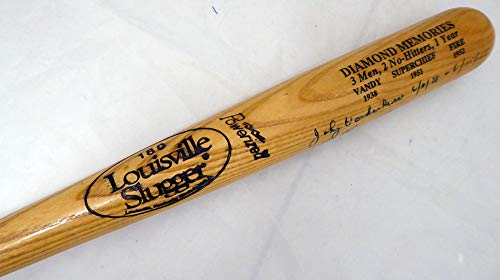 2 Time No Hitter Pitchers Autographed Bat With 3 Signatures Including Trucks, Reynolds & Vander Meer Beckett BAS #A88578