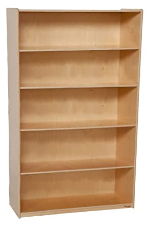 Wood Designs WD13260 X Deep Bookshelf 60 36 18quot H