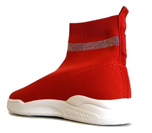 In Calza Sneakers A N Ferragni Chiara 38 Rosso Maglia Cf 1947 Eu Rebel awHXwgxq