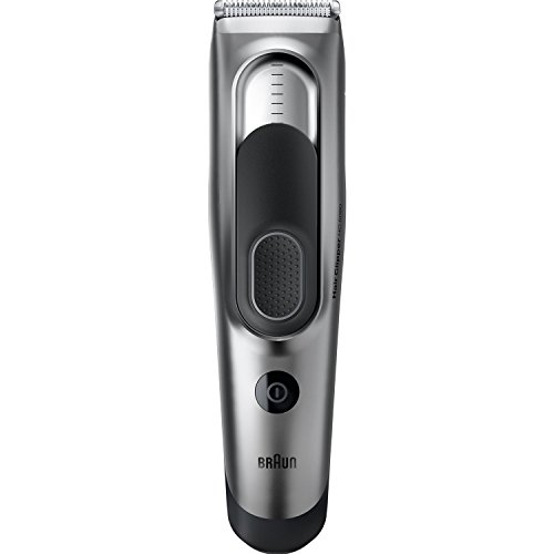 Braun HC5090 Hair Clipper and Trimmer for Men, Cordless & Rechargeable Electric Cutting Machine for Facial Hair by Braun