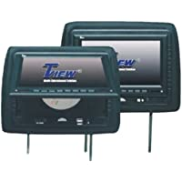 Tview T929DVPL-BK 9-Inch Monitor with DVD Player Built in Car Headrest (Black)