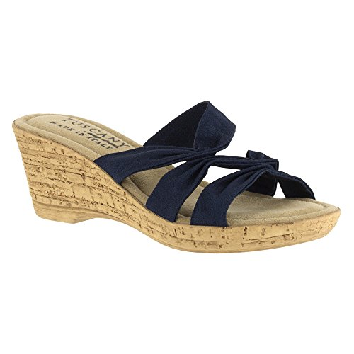 Street Lauria Sandal Wedge Navy Women's Easy qSOxwEdYY