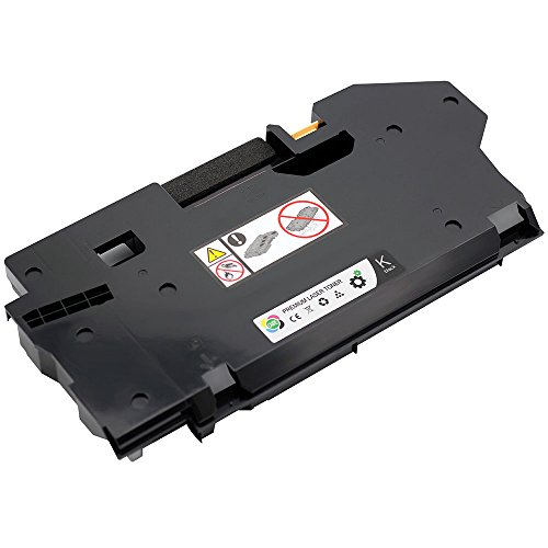 Caire(TM) Waste Toner Container Compatible Dell H625cdw, Dell H825cdw, Dell S2825cdn, Dell 8P3T1 Dell H625, Dell H825, Dell S2825 printer (S2825: WT)
