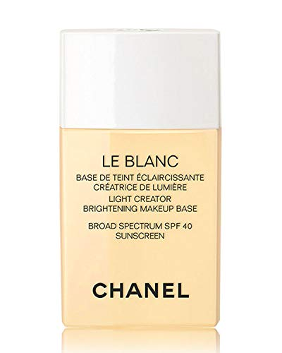NIB LE BLANC Light Creator Brightening Makeup Base Broad Spectrum SPF 40 Sunscreen, 1.0 oz Color: 20 Mimosa New Look! ()