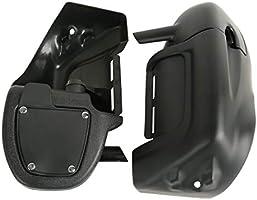 TCMT Lower Vented Leg Fairings Glove Box For Harley Touring FLHT FLHX FLHR 1983-2013
