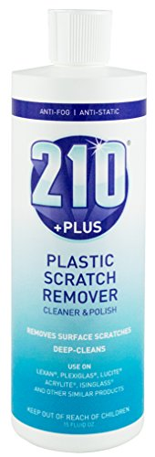 Sumner Laboratories 23305 210 Plus Plastic Scratch Remover Cleaner & Polish 15 oz Bottle, 15. Fluid_Ounces (Best Plastic Polish Scratch Remover)