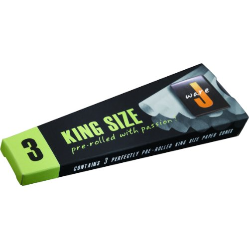 JWare Pre-Rolled King Size Cone Papers (3 Pack)