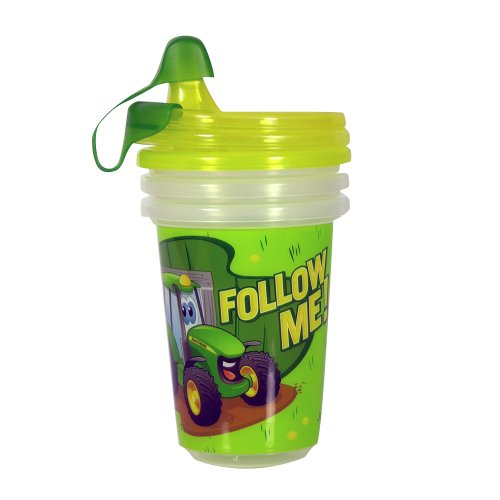 John Deere Take & Toss Sippy Cup, 3 Pack -