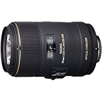 Sigma 258306 105mm F2.8 EX DG OS HSM Macro Lens for Nikon DSLR Camera - International Version (No Warranty)