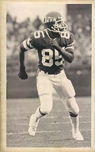 (Historic Images - 1982 Vintage Press Photo NFL New York Jets Wide Receiver Wesley Walker -)