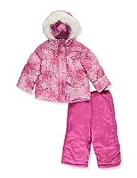 """Rothschild Baby Girls' """"Snow Gem"""" 2-Piece Snow Suit"""
