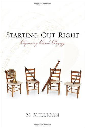 - Starting Out Right: Beginning Band Pedagogy