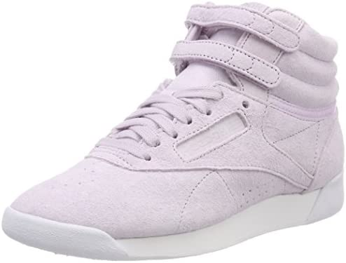 203dd82260e0 Reebok Women's Fs Hi NBK Gymnastics Shoes, Purple Beige (Opal/White  Opal/White) 2.5 UK