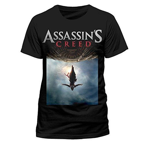 Beats & More Assassins Creed Movie-Poster (Unisex), Camiseta para Hombre, Negro negro