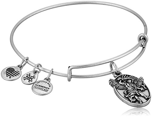 (Alex and Ani Archangel Michael EWB Rafaelian Silver Bangle)