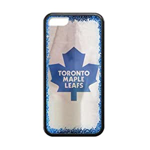 Custom Durable Silicone Personalized NHL Toronto Maple Leafs Iphone 5C Case