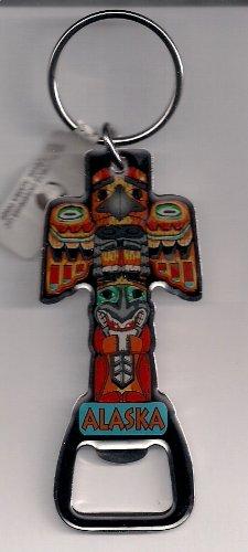 Alaskan Totem Bottle Opener Keychain