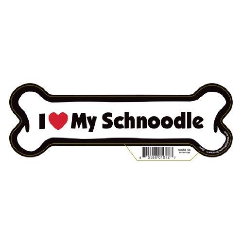 Pet Gifts USA Schnoodle Dog Bone Magnet