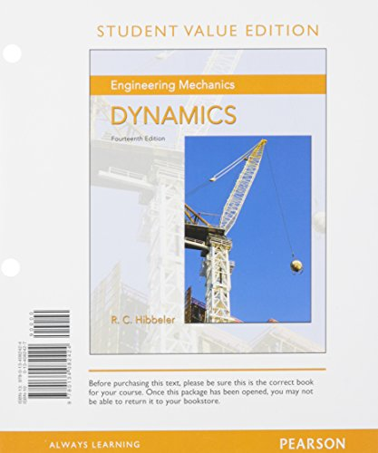 Download Engineering Mechanics: Dynamics, Student Value Edition book