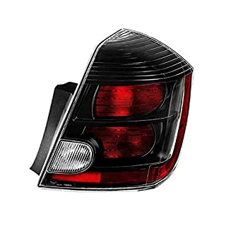 Xtune ALT-JH-NS10-OE-BK-R Nissan Sentra Right Passenger Side Tail Light