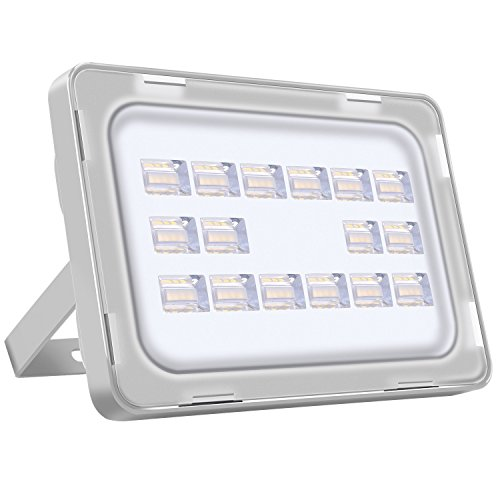 Viugreum 50W LED Outdoor Floodlight, Thinner and Lighter Design, Waterproof...