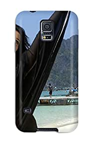 Elliot D. Stewart's Shop New Style 3519491K49536283 New Style Tamanna Beautiful In Black Saree Premium Tpu Cover Case For Galaxy S5