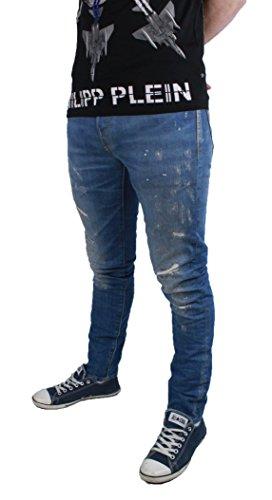 Jack and Jones Tim Blue Herren Jeans