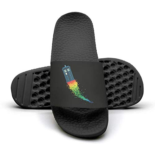 Rainbow lady Sandals 1 booth Mules telephone Slippers Booth Woman Slipper cool Telephone Rainbow BqAXEKYw