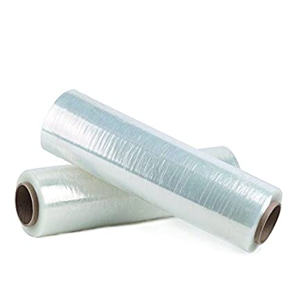 6 X STRONG ROLLS CLEAR PALLET STRETCH SHRINK WRAP CAST PARCEL PACKING CLING FILM BARGAINS-GALORE