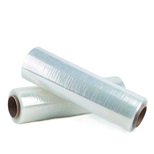 Bargains Galore Lot de 6rouleaux de film plastique transparent étirable pour emballage et palettes