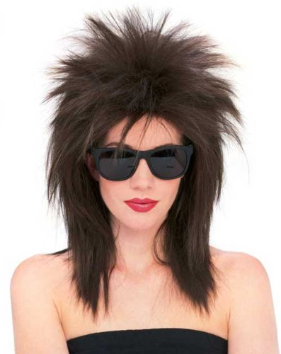 [R50725/71 (Brown) Super Star Punk Rock Wig] (Tina Turner Wigs)