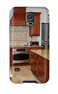 Brand New S5 Defender Case For Galaxy (traditional Kitchen With Tiled Backsplash)