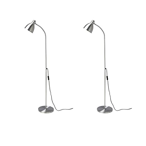 sports shoes f9fca d7464 Ikea Lersta Floor Lamp E26 Led Bulb Included (2 Pack) Adjustable