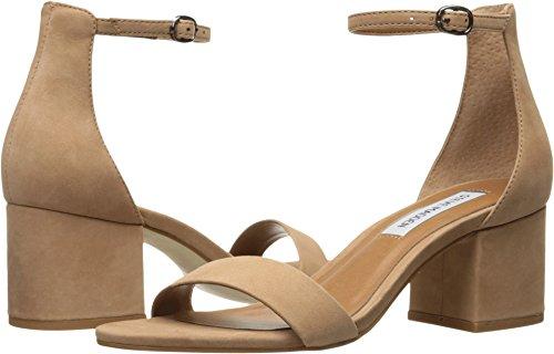 Steve Madden Women's Irenee Heeled Sandal, tan Nubuck, 4 M US from Steve Madden
